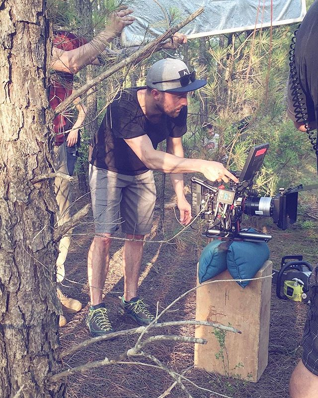 Who needs baby sticks when you have an apple box, a sand bag and @jordanbbradley  #nativethefilm #louisiana  #filmlouisiana #filmla #redepicdragon #filmtexas #houstonfilm #shortfilm #thriller #mtv #redepic #shreveport #lafilmprize #film #feature