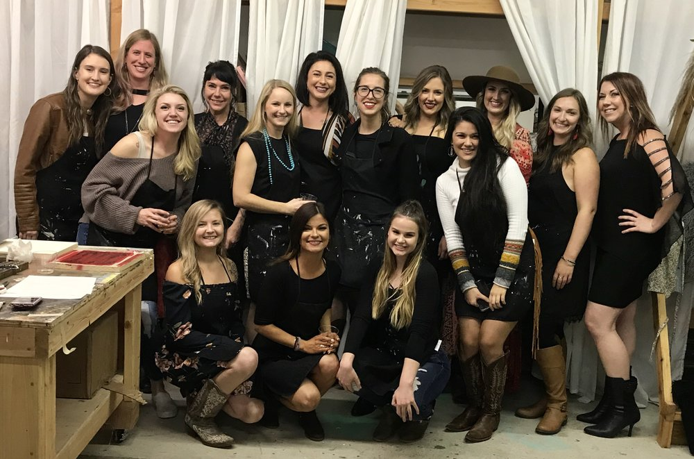 Wild Souls Ranch team at the 2018 staff appreciation holiday party