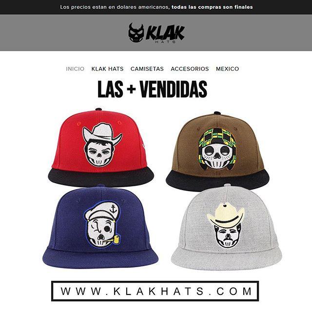 Buen inicio de semana aquí andamos entra a www.klakhats.com y checa nuestra 743469da39b