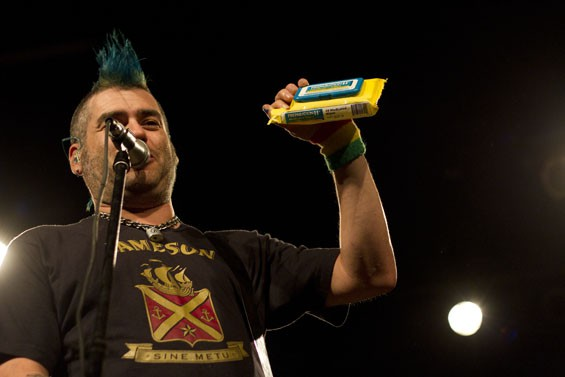 NOFX at Marquee Theatre, 1/7/12