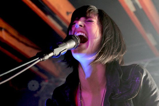 Phantogram at Crescent Ballroom in 2011.
