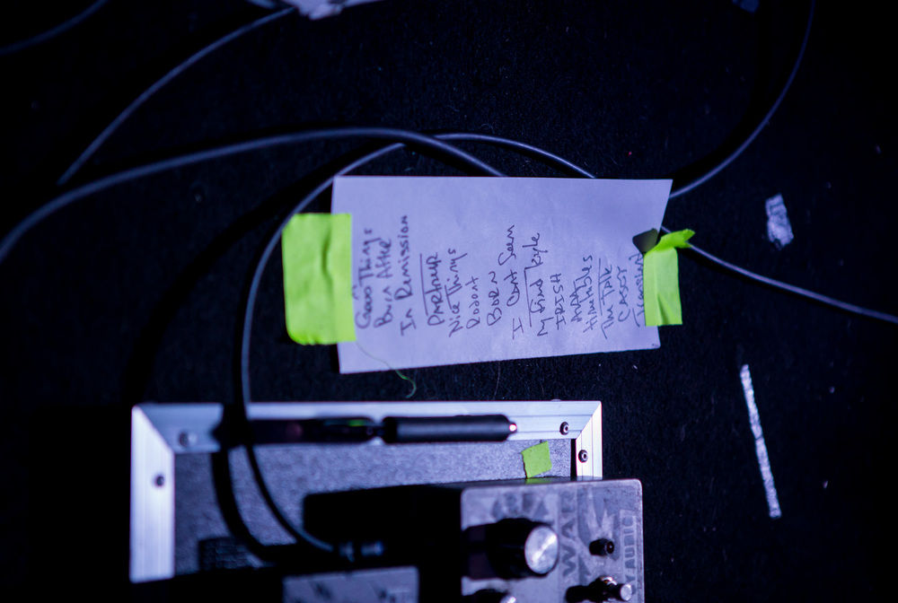 A great setlist: Photo by Melissa Fossum