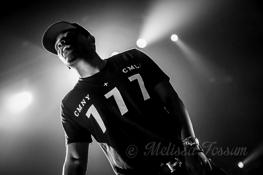 Kendrick Lamar at Mesa Amphitheatre- Photo by Melissa Fossum