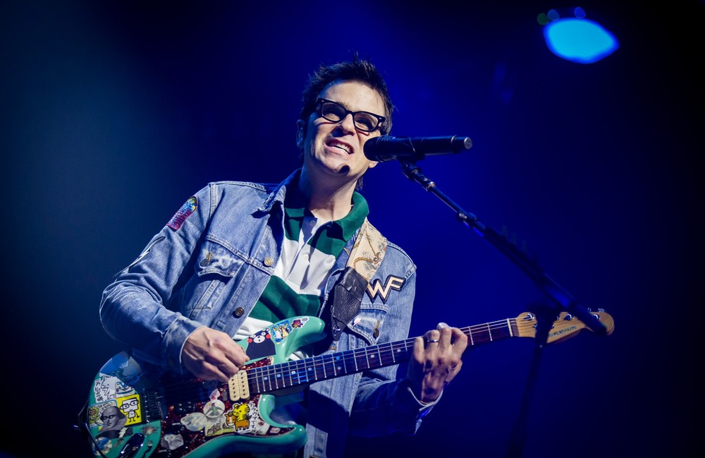 Weezer's Rivers Cuomo: Photo by Melissa Fossum
