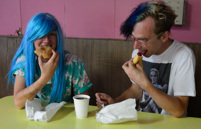Introflirt Sugar Rush Donut Shop Tour 2015!! We ate our way through some of Oakland's finest donut shops. See the photoz when you click on the picture!