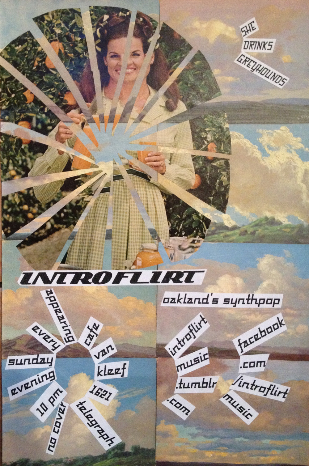 Oakland's Sunday Synthpop Serenade with Introflirt. Cafe Van Kleef. Every Sunday Night at 10pm. FREE. 1621 Telegraph Avenue.