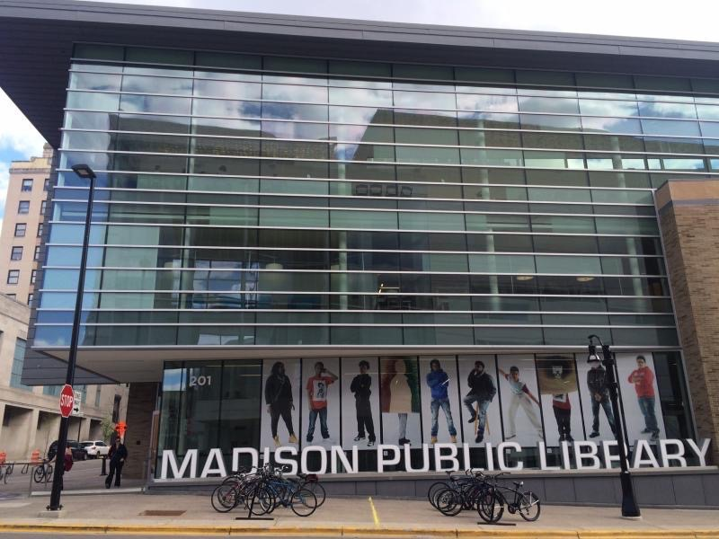 Madisons Central Library Today Heres >> Organize The Thing Is The Thing
