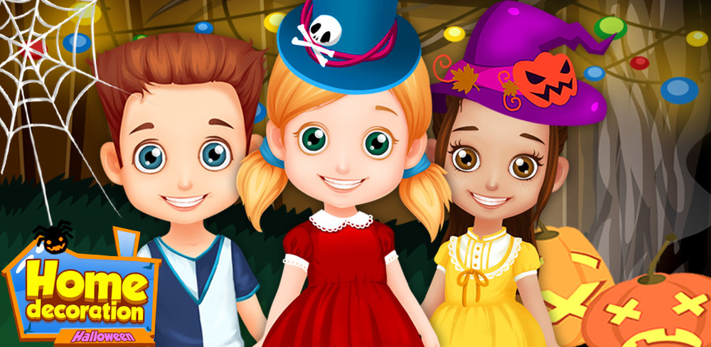 Halloween Party - Play House  Halloween is near! How exciting! Are you ready to dress up and makeover and have party with friends?