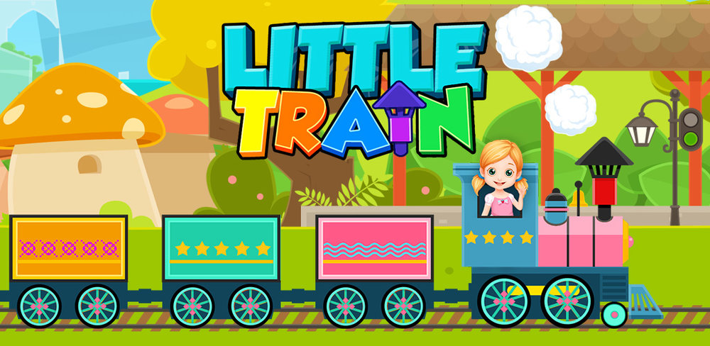 Build My Train: Paint & Design  Paint, repair, doodle on and give a complete makeover to many different kinds of trains, all with a big, friendly interface that's easy for a baby or toddler to use.