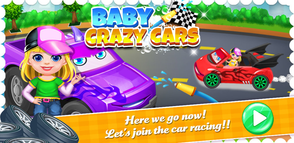 Furious Babies! Fast Cars Game  You may not know this, but babies love to race cars as much as kids and adults do!