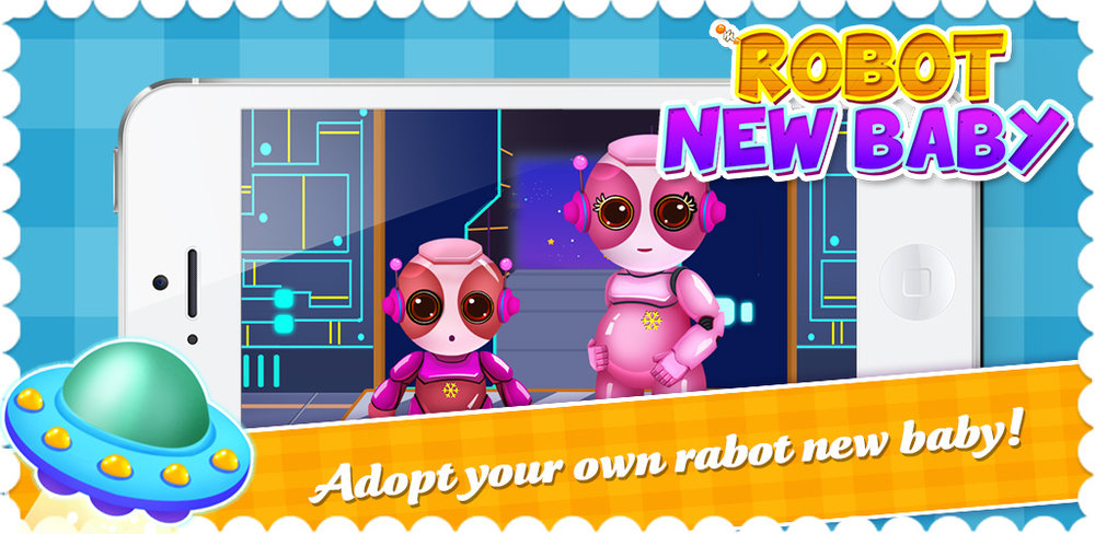 New Robot Baby: Project Future  Robot mommy is pregnant with a brand new baby! New gears, new bolts, new life…how cool! But this future family needs your help!