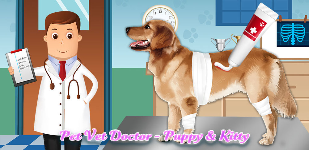 Pet Vet Doctor Animal Hospital  Oh no, Doctor! These poor pets are sick and need your help! Can you cure them and save the day? When you're a Pet Store owner, you have to take care of the pets to keep them happy and healthy.