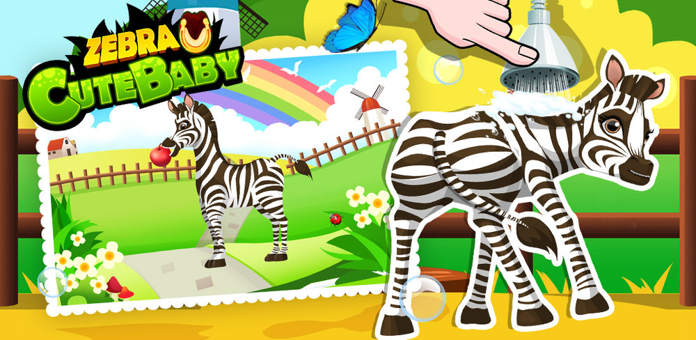 My Little Zebra - Doctor Salon  Have you ever wanted to own your own pet animal? Something cute and cuddly like, say, a baby zebra?!
