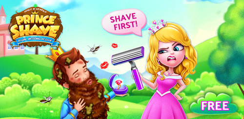 Prince Royal Wedding Shave  Rescue cursed princes with magic tools! Shave them clean for the coming wedding!