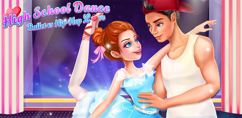 High School Dance Love Story: Ballet vs Hiphop  Hiphop boy falls in love with ballet girl! Dance battle begins! Play your story!