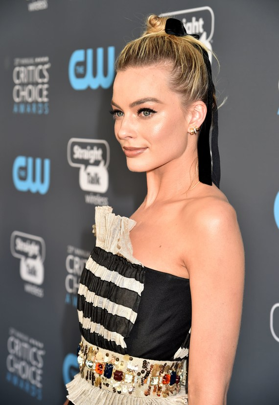 Margot Robbie at the SAG Awards.