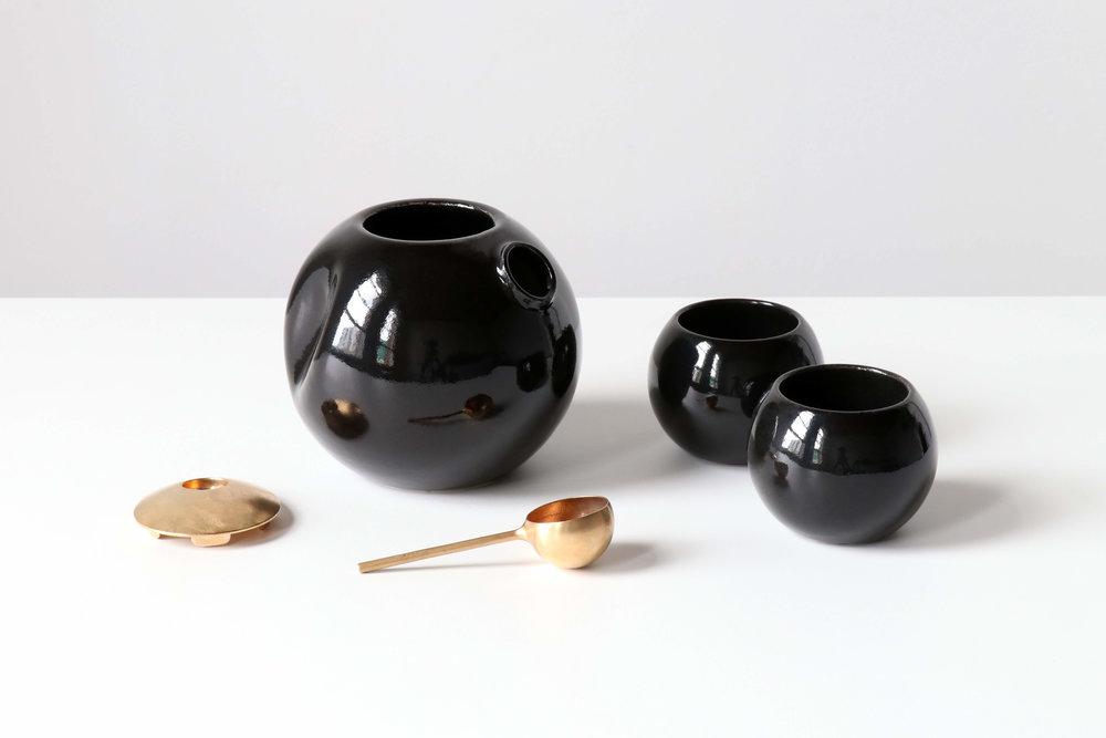 Orbit Tea Set by KAMP.studio