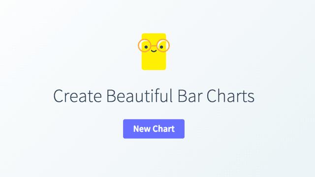 Chartico   無須註冊,線上製作長條圖,可以自訂顏色、文字說明、標題、等資訊
