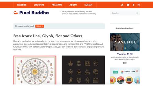 Pixel Buddha 他的icon是最具特色的,例如農曆新年彩色動物圖標就非常可愛