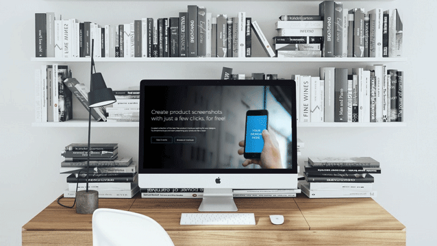 Smartmockups-圖片生成工具   簡單來說,幫你把任何圖片或網址截圖無縫嵌入圖庫裡 3C 裝置螢幕中