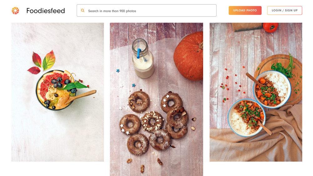 Foodiesfeed   收錄多樣用餐及精美擺盤的高畫質照片