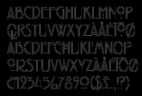 著名的美劇《美國恐怖故事》就是以 Mackintosh 字體作為標準字