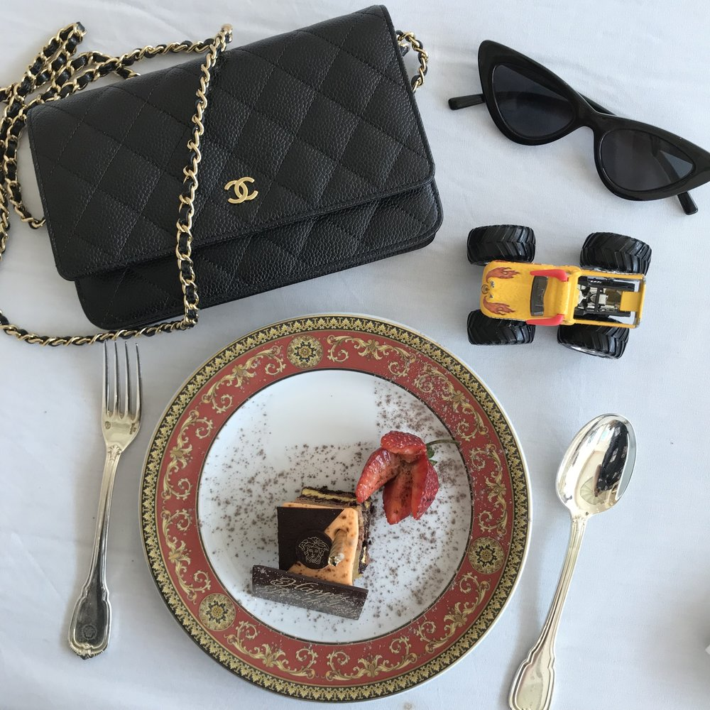 """My """"life"""" in a flat lay"""