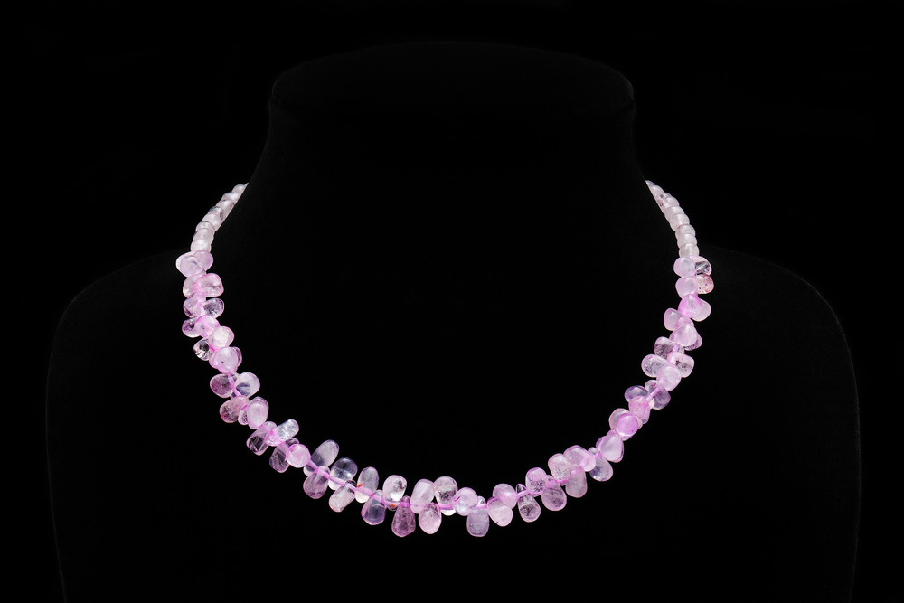 Pink Quartz Necklace by AVprophoto