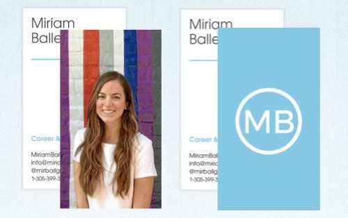 Business Cards - MiriamBallesteros.com