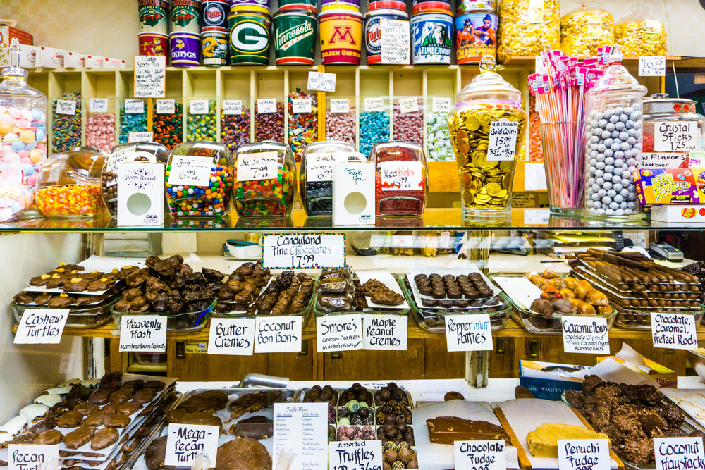 Adventure to Candyland in Saint Paul, Minnesota. St. Paul, MN