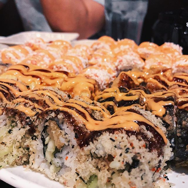 Sushi craving fixed! My favorite roll is the Snow Mountain Roll, what's yours?