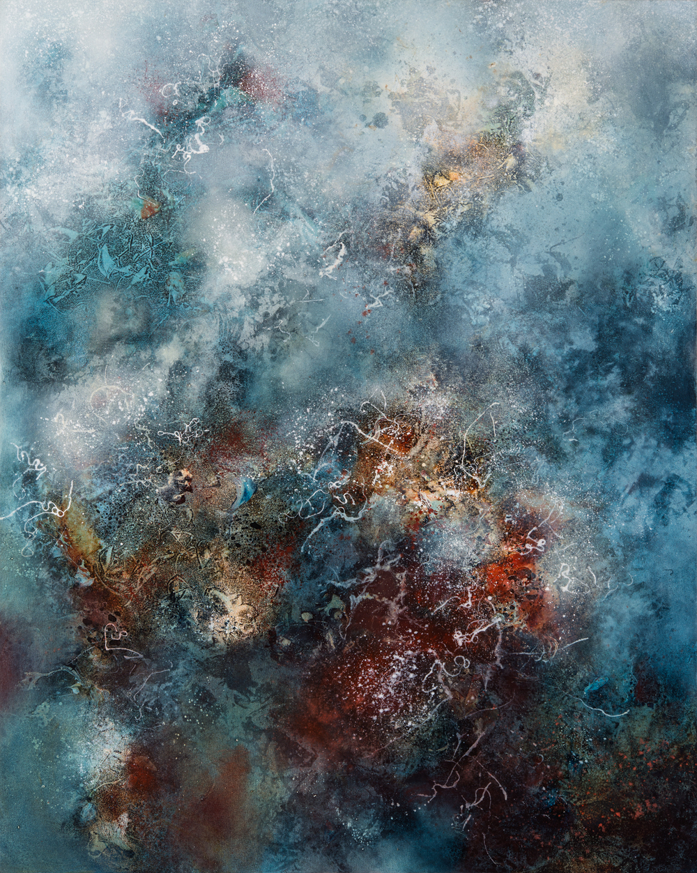 Vortex, oil on canvas, 127 x 102 cm, SOLD