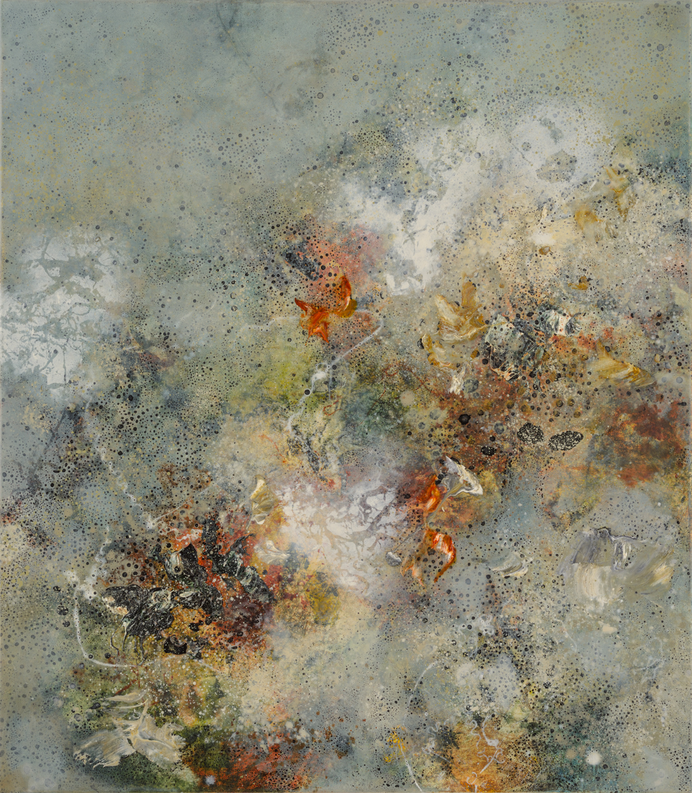 Transcendence III, oil on canvas, 80 x 70 cm, SOLD