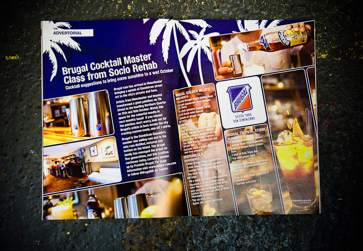 photos of brugal rum promotion from socio rehab bar and chimp magazine manchester, photography, pics, festival, event, photography