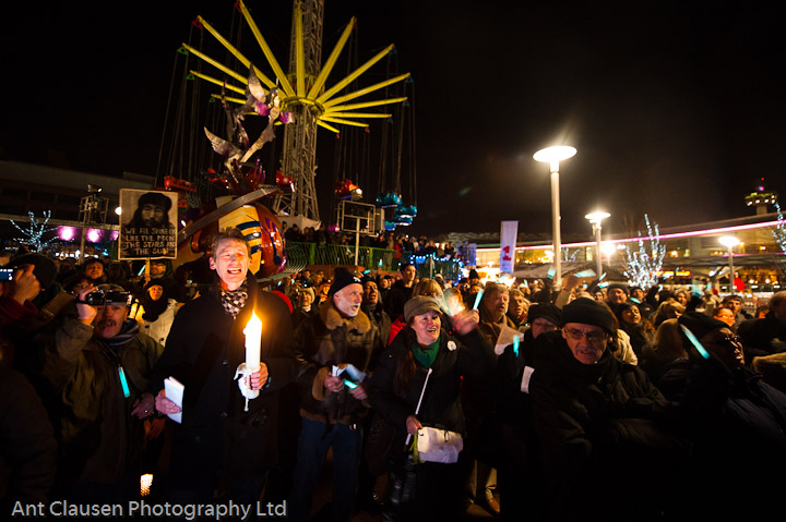 photos of John Lennon Vigil by Ant Clausen Liverpool Photographer, photography, pics, event, photography, PR, commercial