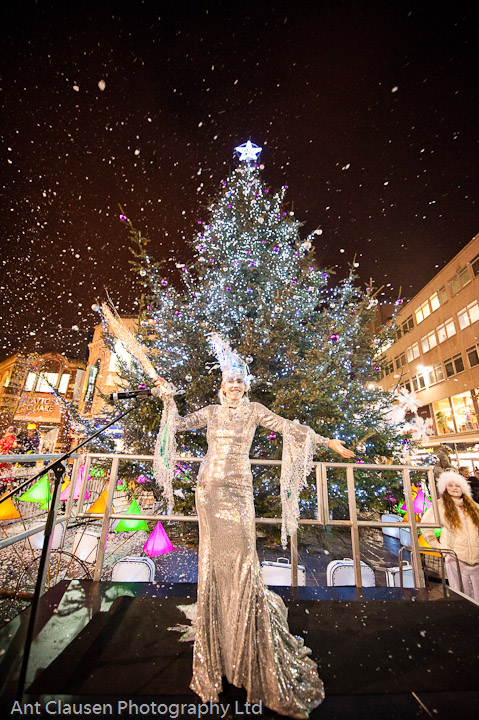 Liverpool photography of city council christmas animation programme by ant clausen liverpool photographer
