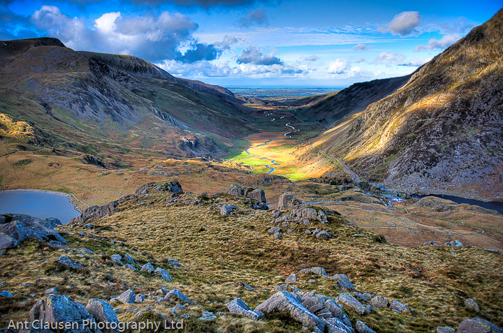 landscape photography of moel tryfan north wales by ant clausen liverpool photographer