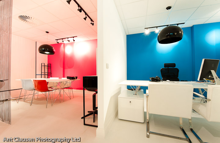 interior photography of think pr offices liverpool by ant clausen liverpool photographer