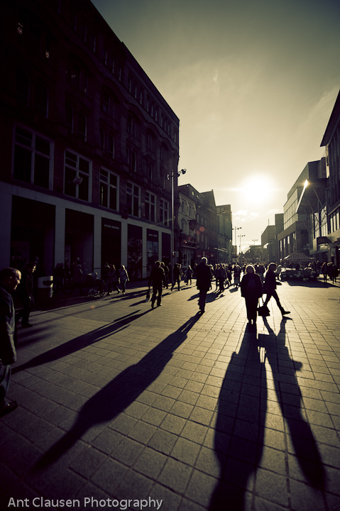 liverpool one paradise street in the winter by ant clausen photographer