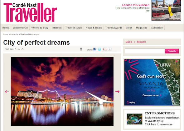 photos of conde nast traveller article on buenos aires by ant clausen photography