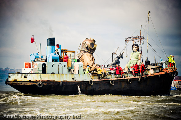 photos of giant spectacular, sea odyssey, liverpool, photography, pics, event, photographer