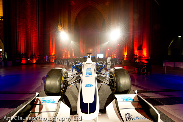 photos of the liverpool chamber of commerce annual dinner Anglican Cathedral 2011