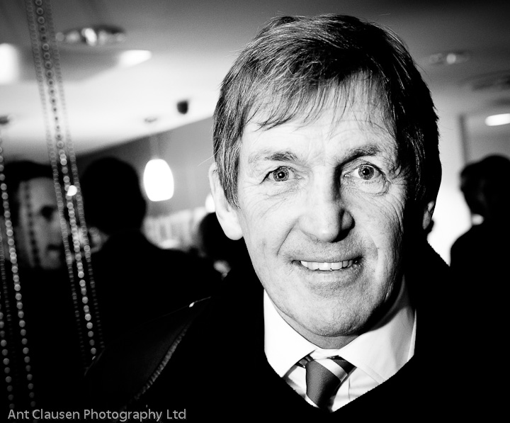 image photo of kenny dalglish, manager liverpool football club, lfc, by ant clausen photography
