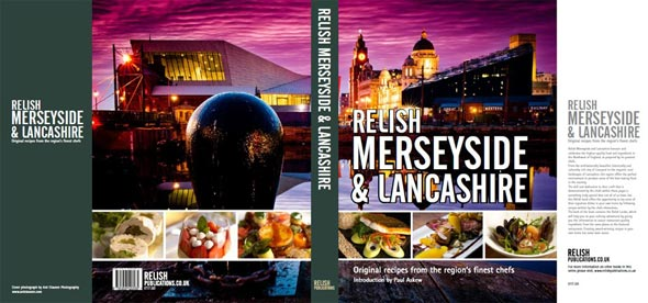 Photo of Liverpool for cover of Relish Merseyside recipe book