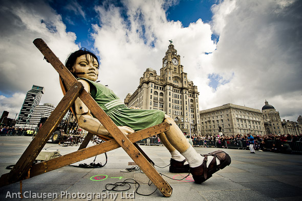 photo of giant spectacular liverpool