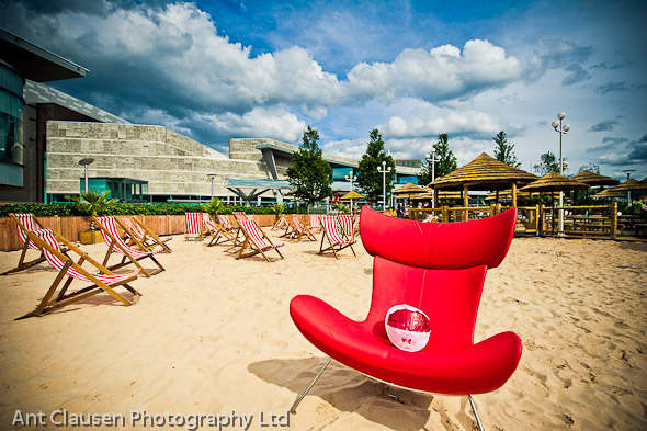 Photo of Liverpool One summer beach launch
