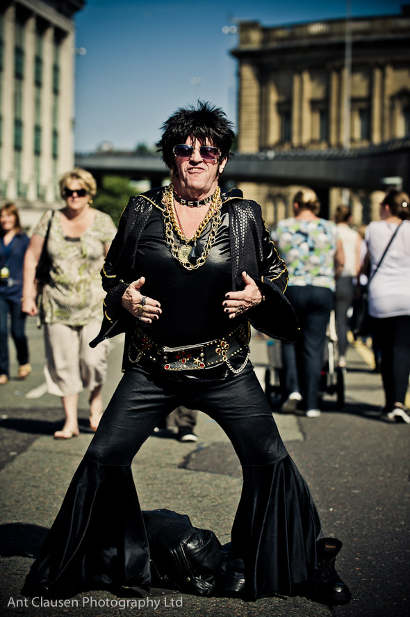 photo of elvis from the mathew street festival 2012