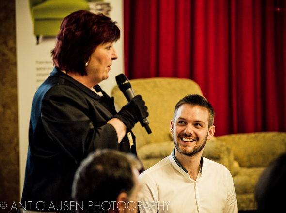 photo of john whaite liverpool in other words town hall festival