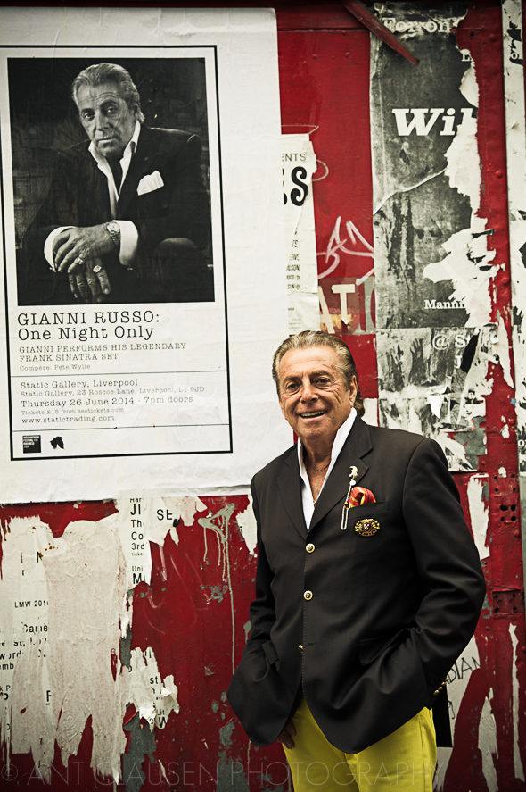 photos of gianni russo from the godfather hollywood actor in static liverpool