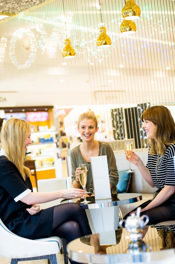 photos of harvey nichols beauty bazaar wow bar in liverpool one city centre